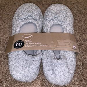 Shoes - Wayland Square memory foam ballerina slippers!